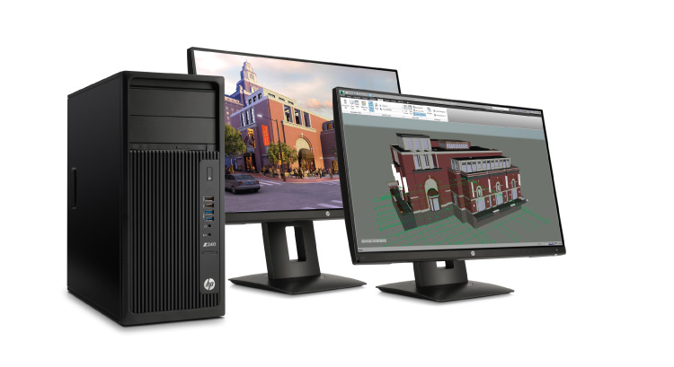 HP Upgrades Entry-level Workstations - Civil + Structural