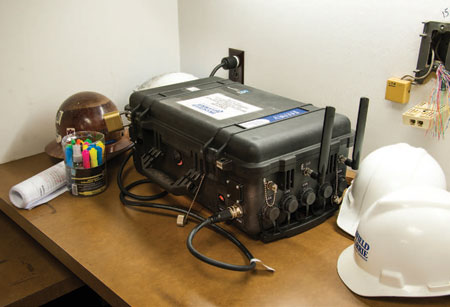 Jobsite technologies: Quick setup for wireless and mobile
