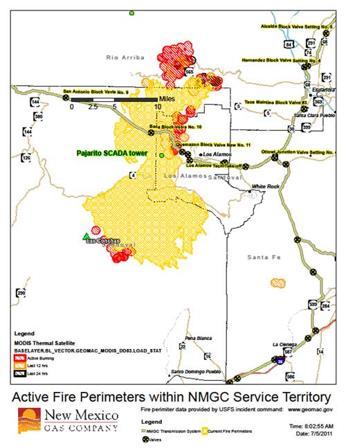 New Mexico Gas Company uses GIS to track wildfire - Civil + ...