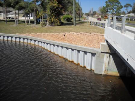 Stabilizing A Stormwater Canal Civil Structural