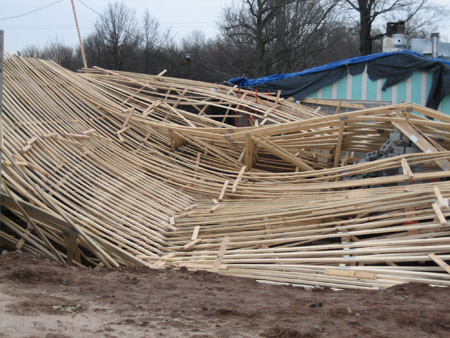 Wood truss bracing rules updated civil structural for Roof trusses installation
