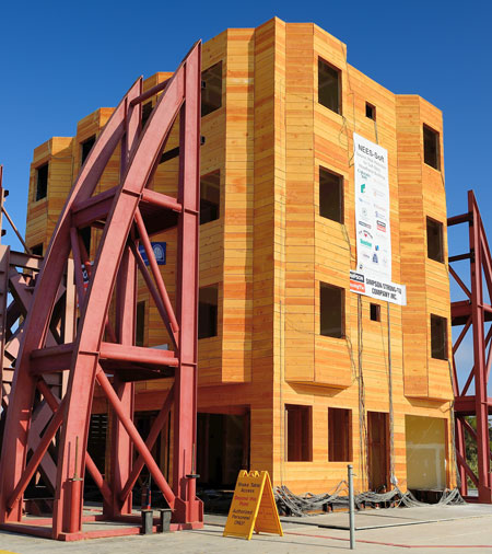 Civil Structural Engineer Magazine: Full-scale Testing Of Soft-story Wood-frame Buildings