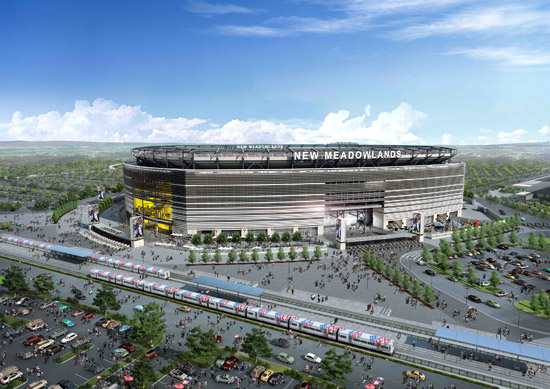 the new meadowlands stadium civil structural engineer magazine