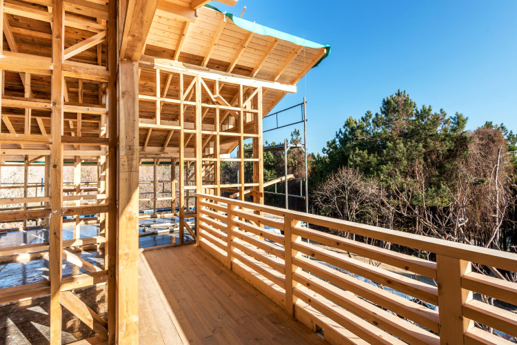 Wood Frame Construction Advantageous In Areas Prone To
