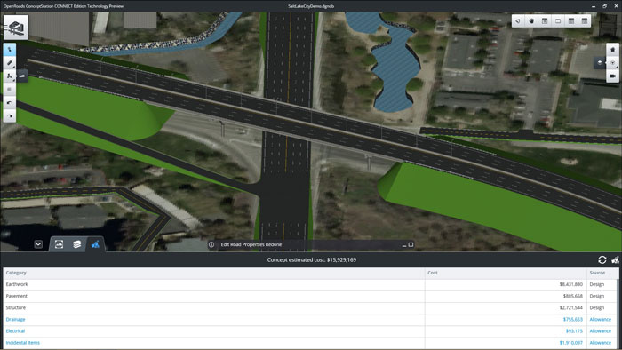 Aec Tech News Bentley Openroads Navigator Connect Edition Brings The Civil Engineering Office