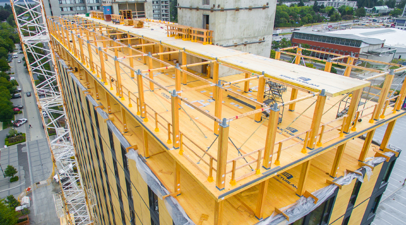 Structural Engineering Magazine : Timber tower civil structural engineer magazine