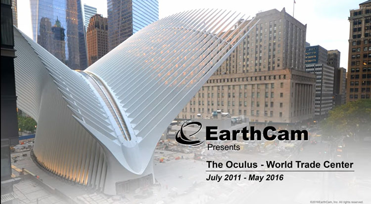 Earthcam oculus construction time lapse honored with telly award earthcam oculus construction time lapse honored with telly award civil structural engineer magazine gumiabroncs Gallery