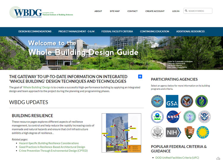 WBDG  WBDG Whole Building Design Guide